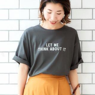 ルクールブラン(le.coeur blanc)のマルチエフェクト プリントオーバーTシャツ(Tシャツ(半袖/袖なし))
