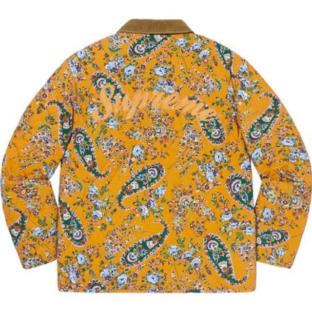 Supreme(シュプリーム)のL Supreme Quilted Paisley Jacket 国内正規品 メンズのジャケット/アウター(その他)の商品写真