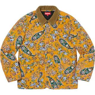 Supreme - L Supreme Quilted Paisley Jacket 国内正規品