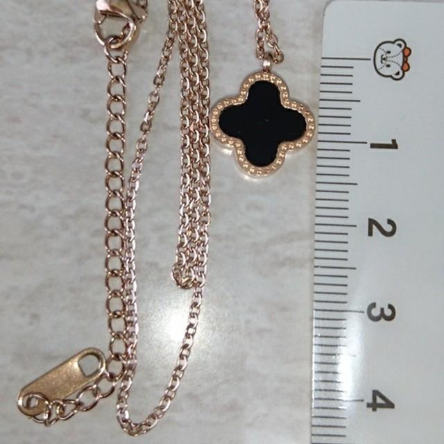 ローズゴールドネックレス 両面使える!ルイヴィトン好きな方に! レディースのアクセサリー(ネックレス)の商品写真