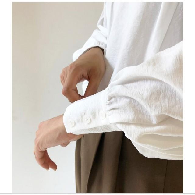TODAYFUL(トゥデイフル)の新品タグ付き todayful ペザントスリーブブラウス レディースのパンツ(デニム/ジーンズ)の商品写真