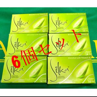 Silka  Green Papaya Soap (6個セット)