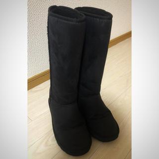 ヌォーボ(Nuovo)のNUOVO ムートンブーツ 黒(ブーツ)