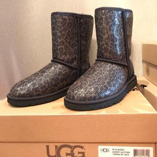 アグ(UGG)のUGG クラシックショート グリッター サイズ5(ブーツ)