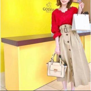 ココディール(COCO DEAL)のCOCO DEAL トレンチスカート(ロングスカート)
