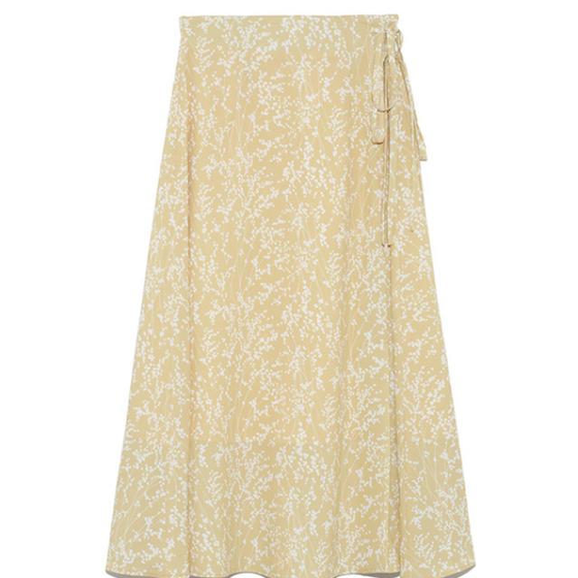 snidel(スナイデル)のフラワーフレアーミドルスカート レディースのスカート(ひざ丈スカート)の商品写真