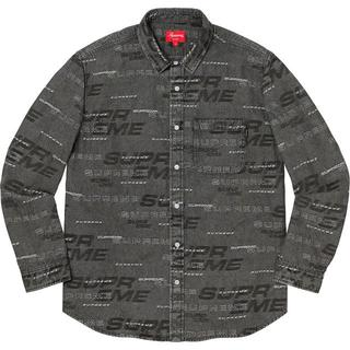 シュプリーム(Supreme)の【M】 Supreme Dimensions Logo Denim Shirt(シャツ)