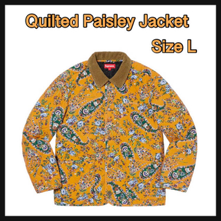 Supreme - 【L】Quilted Paisley Jacket