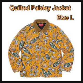 シュプリーム(Supreme)の【L】Quilted Paisley Jacket(その他)
