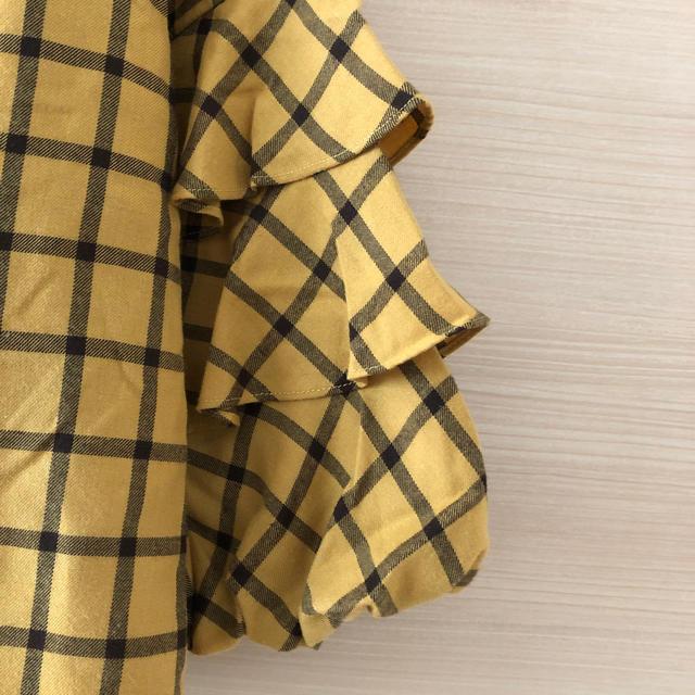 grove(グローブ)のgrove フリルスリーブ トップス レディースのトップス(カットソー(長袖/七分))の商品写真