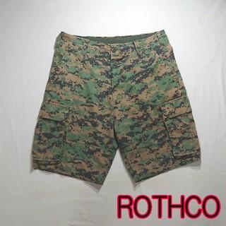 ロスコ(ROTHCO)のROTHCO ロスコ デジタルカモ 迷彩 カーゴ ショートパンツ (ショートパンツ)