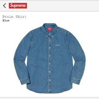Supreme - S supreme classic logo denim shirt デニム