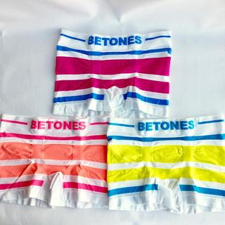 BETONES  ビトーンズ メンズ ボクサーパンツ 3点セット