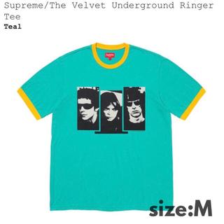 Supreme - M送込‼︎ Supreme ベルベットアンダーグラウンド リンガーTシャツ