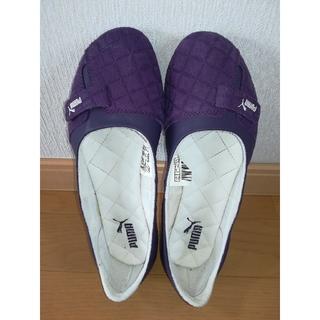 プーマ(PUMA)の【ピョン吉様】靴シューズ レディース PUMAプーマ 23.5cm パープル 紫(その他)