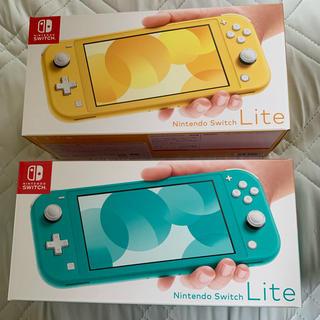 Nintendo Switch - Nintendo Switch Lite ターコイズ&イエロー