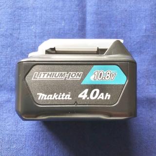 マキタ(Makita)の◆新品 純正◆ マキタ バッテリー BL1040B 10.8V 4.0Ah(バッテリー/充電器)