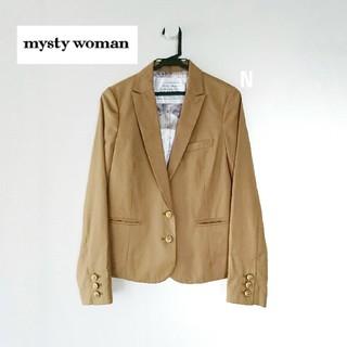 mysty woman - 【新品】mysty woman テーラードジャケット ベージュ Mサイズ