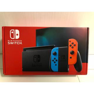 Nintendo Switch - 任天堂スイッチ本体 新型 ブルー レッド