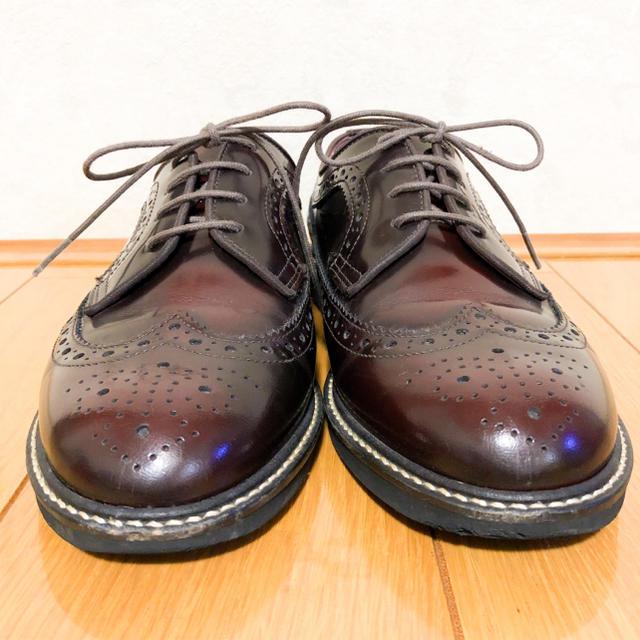HARUTA(ハルタ)の元値1.3万★ハルタ ウィングチップ 革靴 レディースの靴/シューズ(ローファー/革靴)の商品写真