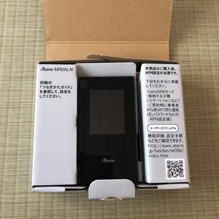 エヌイーシー(NEC)の中古美品☆LTEモバイルルータ Aterm MR05LN(PC周辺機器)