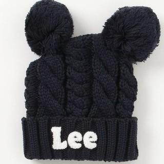 リー(Lee)のみゅ様専用 新品 Lee 耳つきニット帽(帽子)