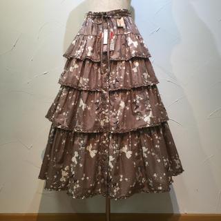 PINK HOUSE - ピンクハウス  定価4万1040円でタグ付き未使用品の段々スカートです。
