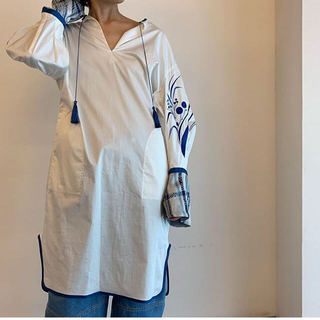 mame - 新品タグ付き 19AW mame Floral Jacquard ドレス