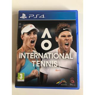 PlayStation4 - AO INTERNATIONAL TENNIS
