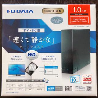 アイオーデータ(IODATA)の値引き【新品】I-O DATA 外付けHDD 1TB(その他)