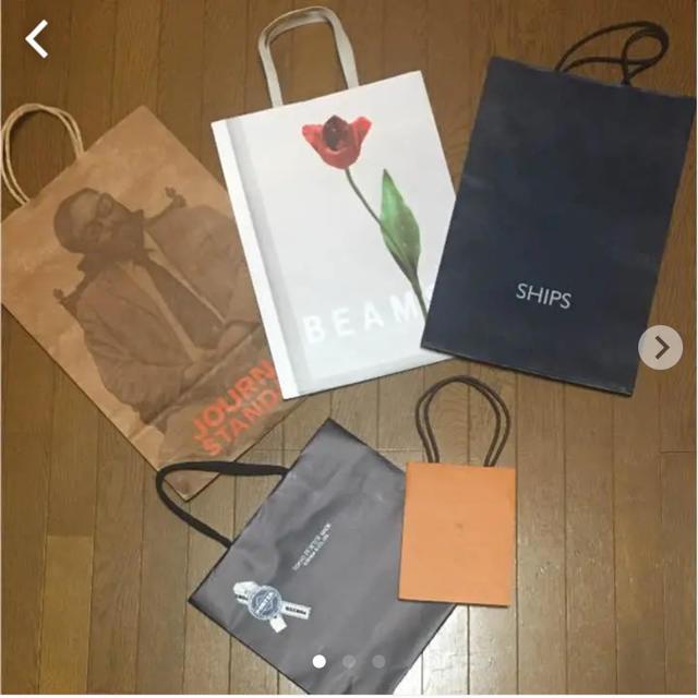 BEAMS(ビームス)のショップ袋まとめ売り レディースのバッグ(ショップ袋)の商品写真