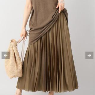 Plage - plage  シースループリーツスカート
