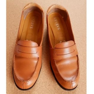 SAKIAS ローファー ブラウン 37 (ローファー/革靴)