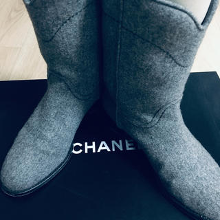 シャネル(CHANEL)のシャネルCHANEL ショートブーツ(ブーツ)