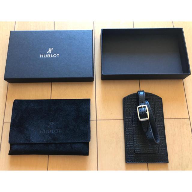 スピードマスター プロ - HUBLOT - ⭐️ 【新品】HUBLOT ラゲージタグ ネームタグ ♪♫の通販 by YOHEI's shop