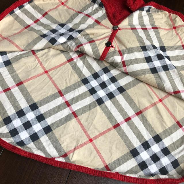 BURBERRY(バーバリー)のBurberry ポンチョ キッズ/ベビー/マタニティのベビー服(~85cm)(カーディガン/ボレロ)の商品写真
