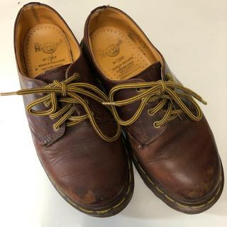 ドクターマーチン(Dr.Martens)のドクターマーチン 3ホール ブラウン(ローファー/革靴)