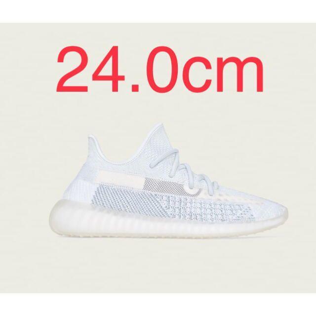 adidas(アディダス)のadidas yeezy boost 350 v2 cloud white 24 レディースの靴/シューズ(スニーカー)の商品写真