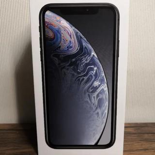 iPhone - iPhone XR 128GB ブラック SIMフリー