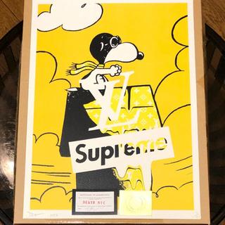 Supreme - DEATH NYC スヌーピー×SUPREME×ルイヴィトン ポスター