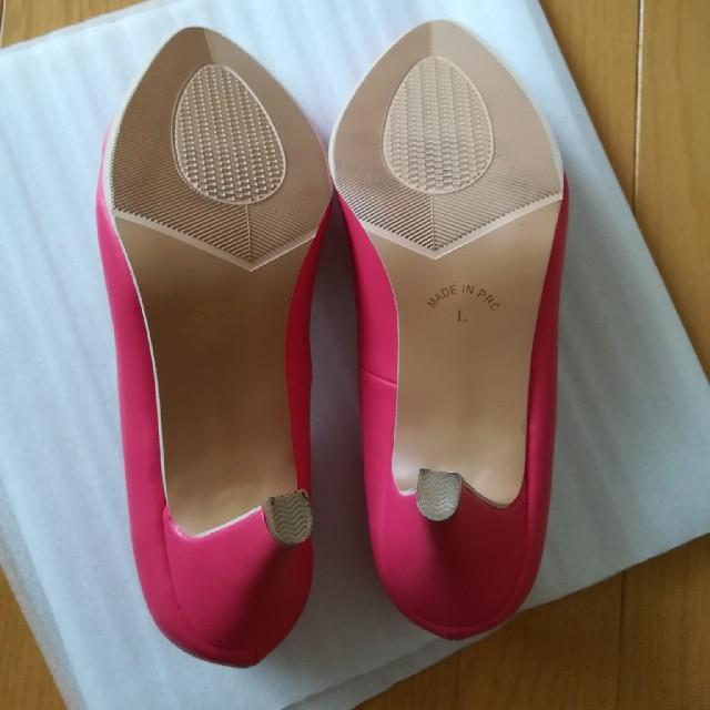 新品未使用 アタガール パンプス パステルピンク レディースの靴/シューズ(ハイヒール/パンプス)の商品写真