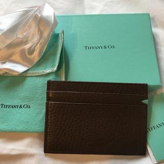 ティファニー(Tiffany & Co.)のティファニー 新品!!超レア品 カードケース(名刺入れ/定期入れ)