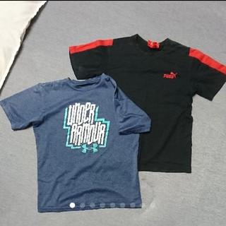 アンダーアーマー(UNDER ARMOUR)のアンダーアーマー プーマ Tシャツ 2枚セット(Tシャツ/カットソー)
