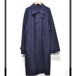 コモリ(COMOLI)のURU TOKYO バルカラー コート(ステンカラーコート)