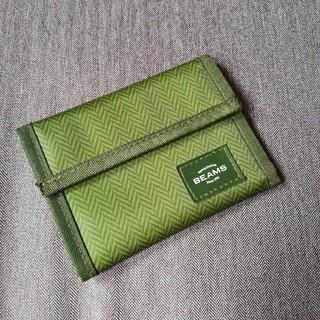 ビームス(BEAMS)の◉BEAMS◉雑誌特別付録6ポケット三つ折り財布です!(折り財布)