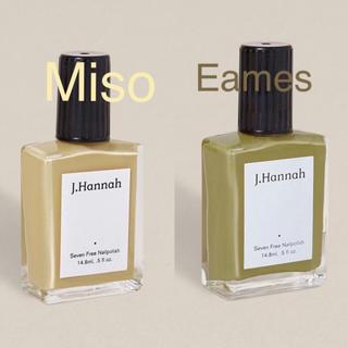 ドゥーズィエムクラス(DEUXIEME CLASSE)のJ.Hannah Eames & Miso(マニキュア)