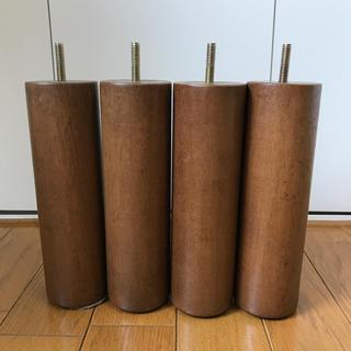 ムジルシリョウヒン(MUJI (無印良品))の無印良品 ベット脚 旧仕様 4本セット(脚付きマットレスベッド)