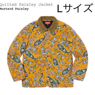 Supreme - Lサイズ/supreme/Quilted Paisley Jacket