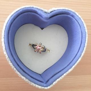 ピンキーリング 幸せのウミガメ(リング(指輪))