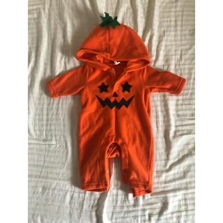 ベビーかぼちゃコスチューム(カバーオール)